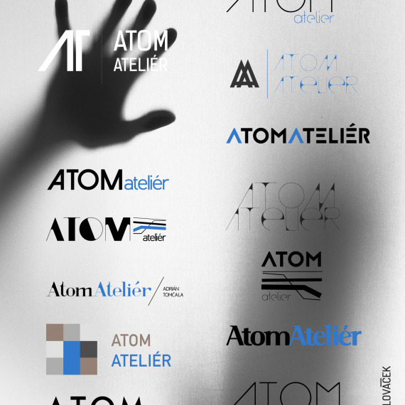 LogoTyp Atom Ateliér
