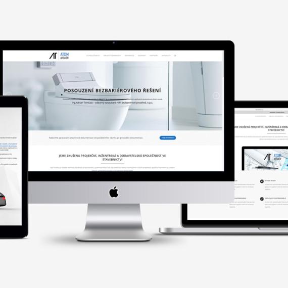 nové webové stránky projekční kanceláře